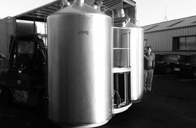New 1,100 litre pre-loved VPS system brewery